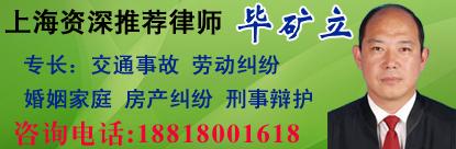 上海律师_毕矿立律师